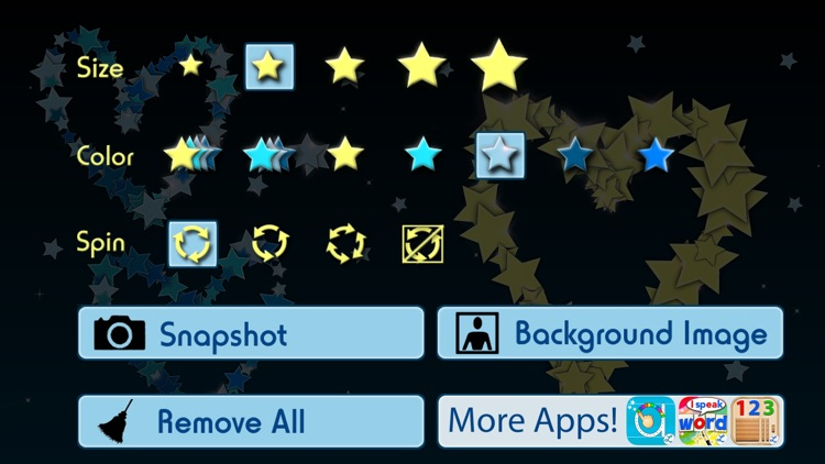 Draw with Stars ! Play With Shooting Stars screenshot-4