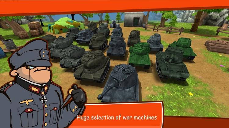 Toon Wars: Tank battles screenshot-4