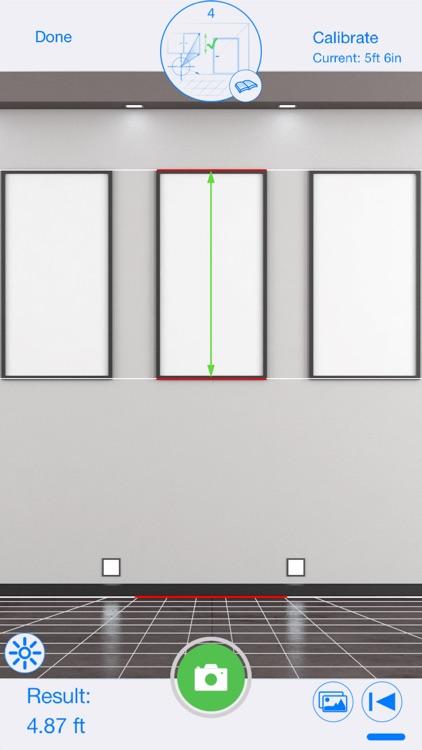 CamMeasure Smrt Measure height width distance area