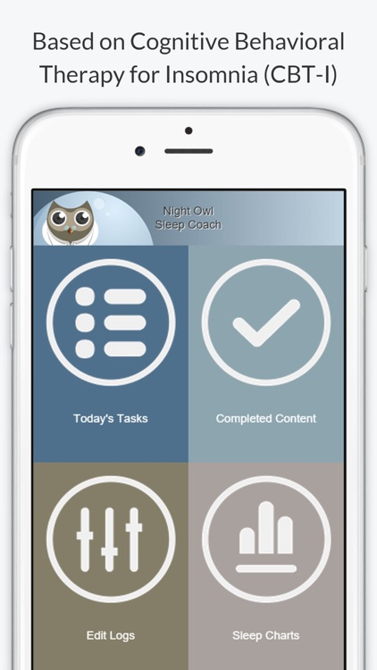 Night Owl - Sleep Coach - Cognitive Behavioral Therapy for Insomnia