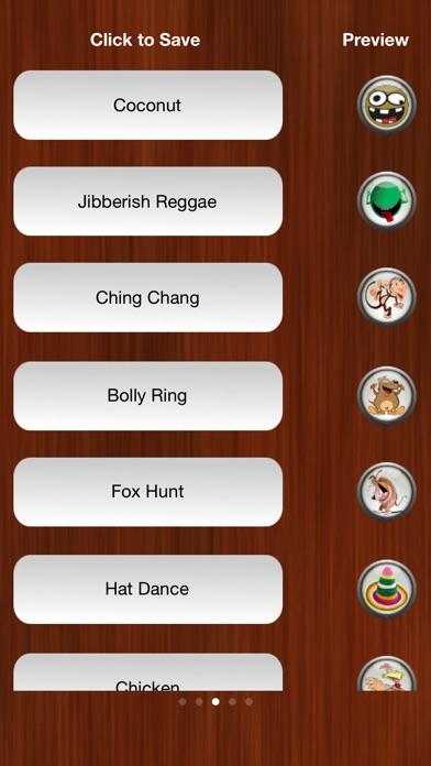 Screenshot for Sjove Ringetoner Gratis in Denmark App Store