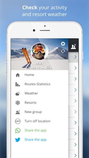 Skitoki: world ski trails, GPS sharing and stats on the App Store