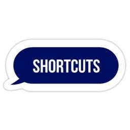 Shortcuts Sticker Pack