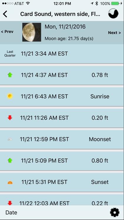 NOAA Buoy and Tide Data screenshot-4
