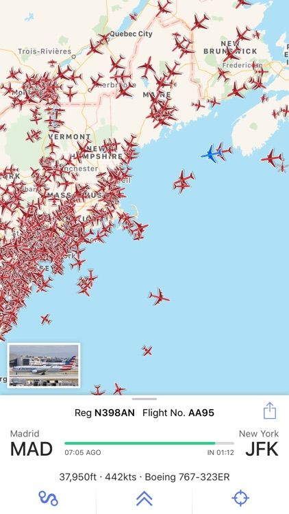 Plane Finder ⁃ Flight Tracker