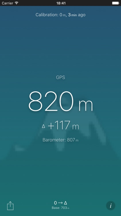 Altimeter (Barometer) screenshot-1