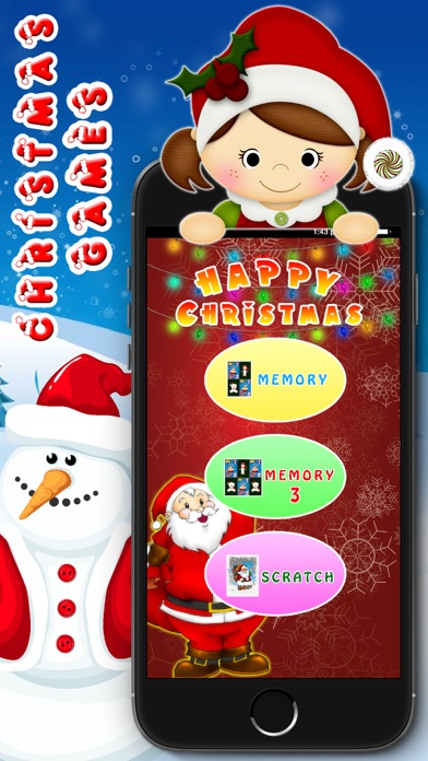Kids santa Game - Christmas Party for Toddler screenshot two