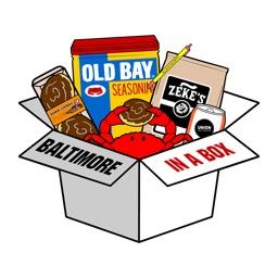 Baltimore Emojis from Baltimore in a Box