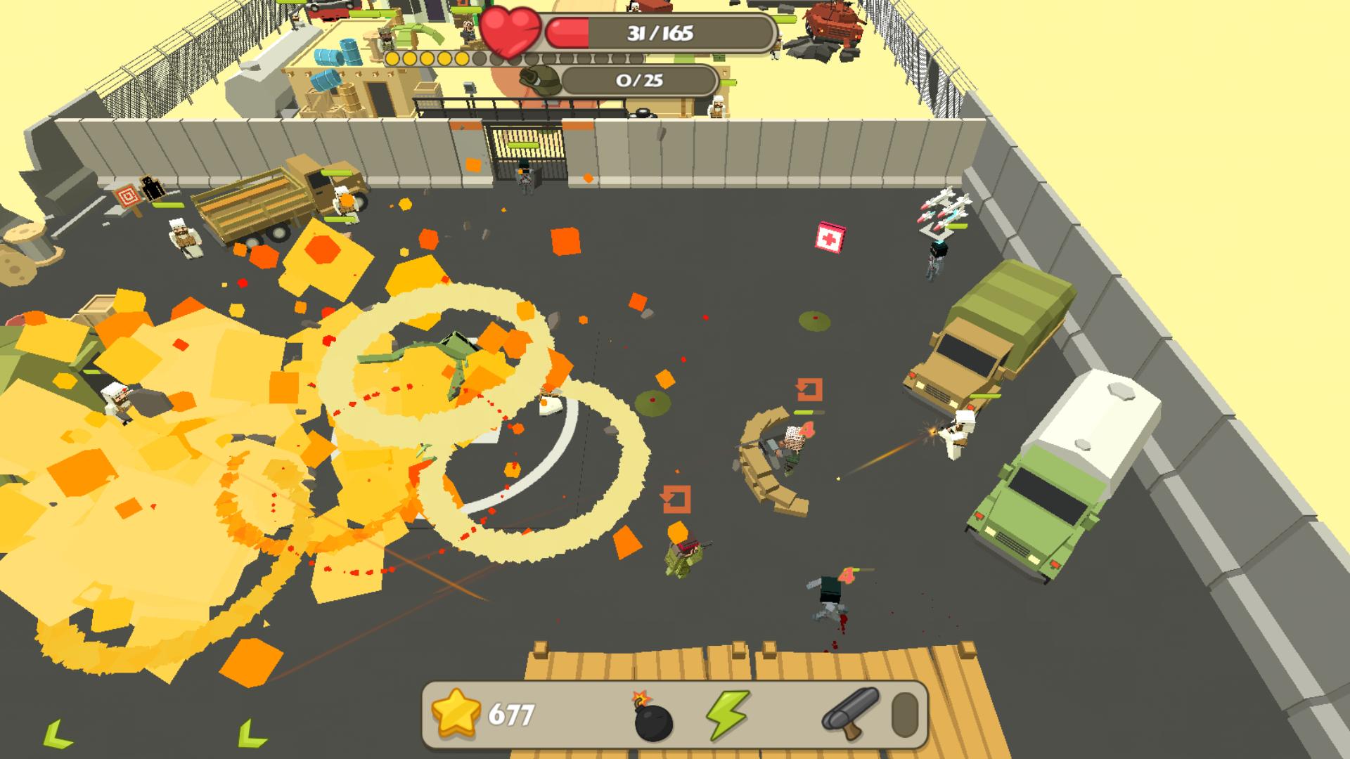 Backstorm Attack - Endless RPG War Runner screenshot 13