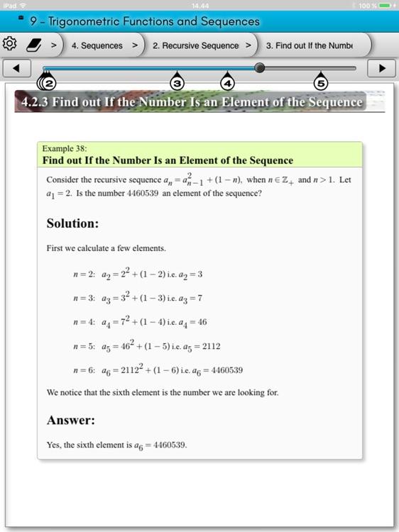 eMath5: Vectors screenshot-3