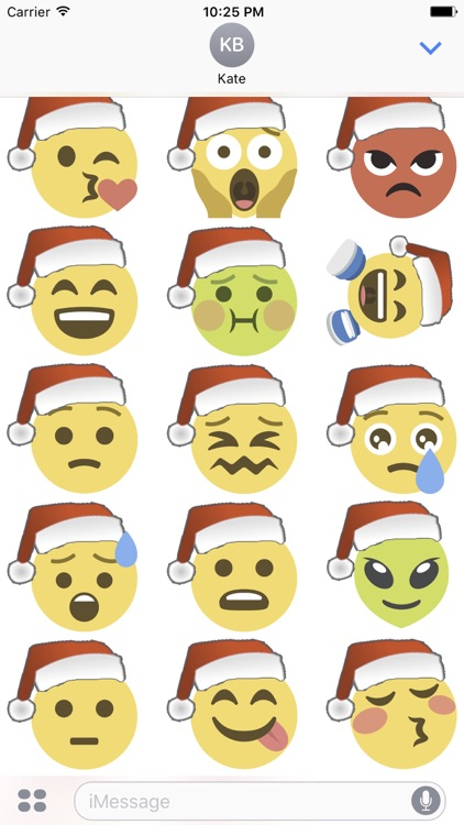 Santa Emoji screenshot-0