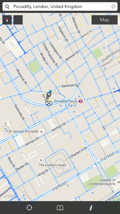 iStreets for Google Maps™ and Street View™ : Nearby Places Search