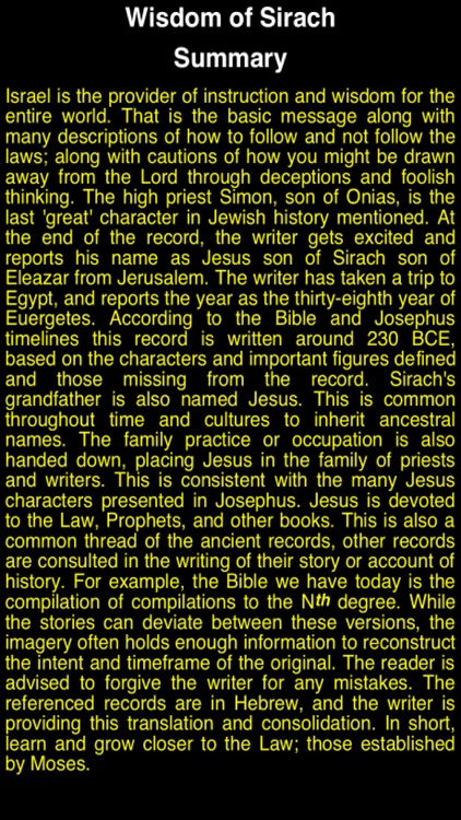 Summary Old Testament Apocrypha (Part 3) screenshot-2