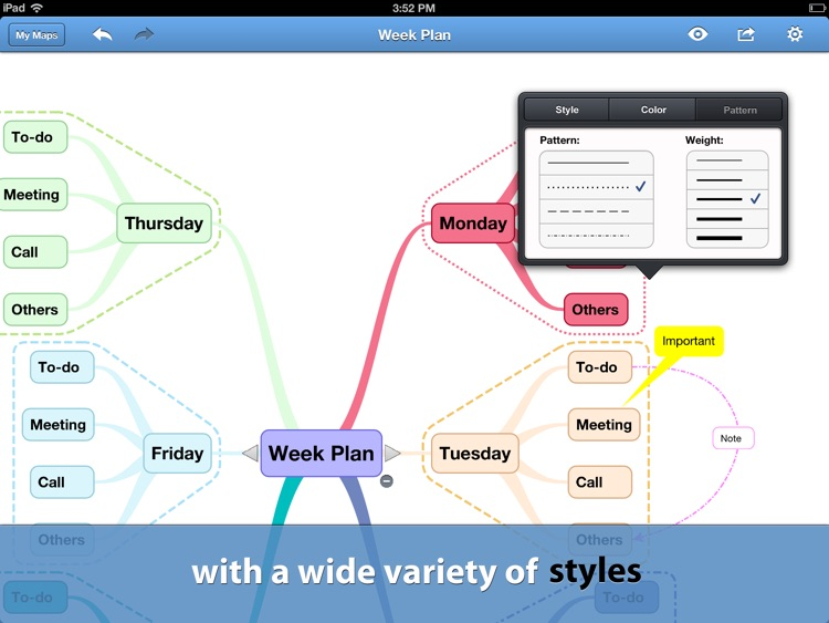 BigMind Pro - Mind Mapping screenshot-1
