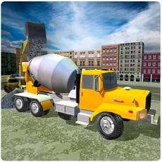 Activities of Concrete Excavator Tractor 3D