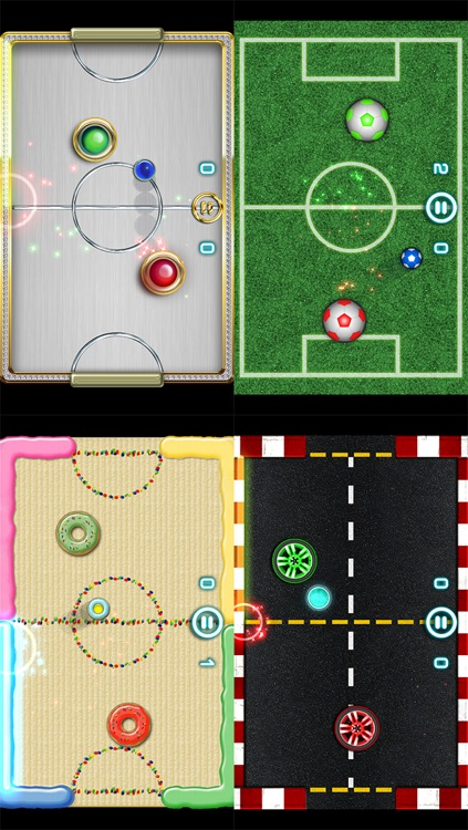 Glow Hockey 2 screenshot-3