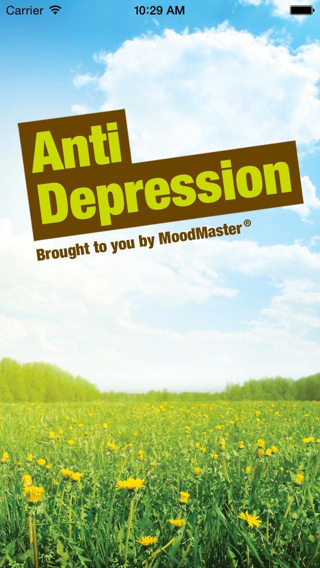 MoodMaster Anti-Depression App Screenshot