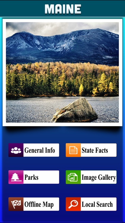 Maine National & State Parks screenshot-1