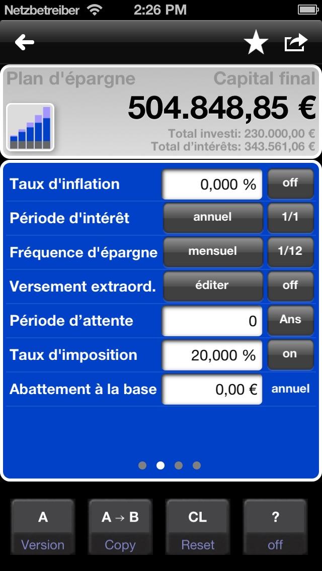 download Calculatrice de prêts et de l'épargne - MarkMoney apps 0