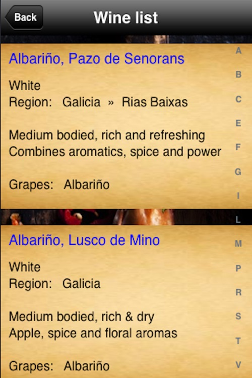 Spanish Menu screenshot-4