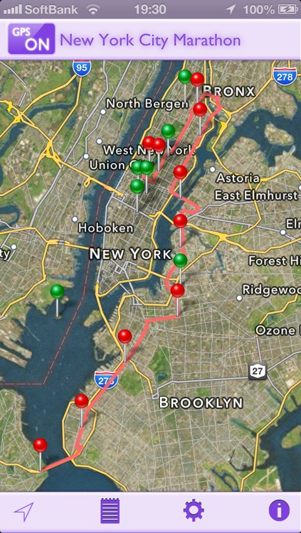 GPS-R for New York City Marathon screenshot-0