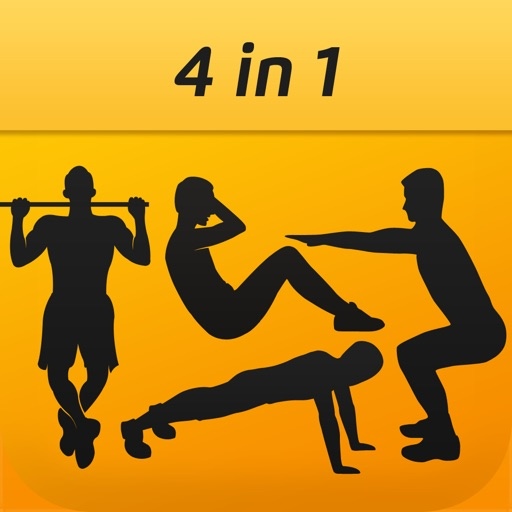 Fitness Guru: Hundred PushUps, 200 SitUps/Squats and 50 PullUps,  One-For-All Solution To Keep Fit by RUI TANG CEN