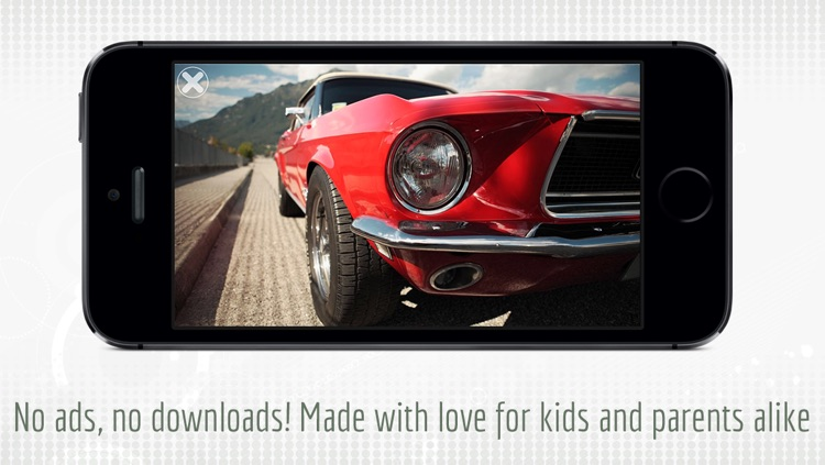 Whopping Sports Cars — The photo and video app for kids and toddlers screenshot-4