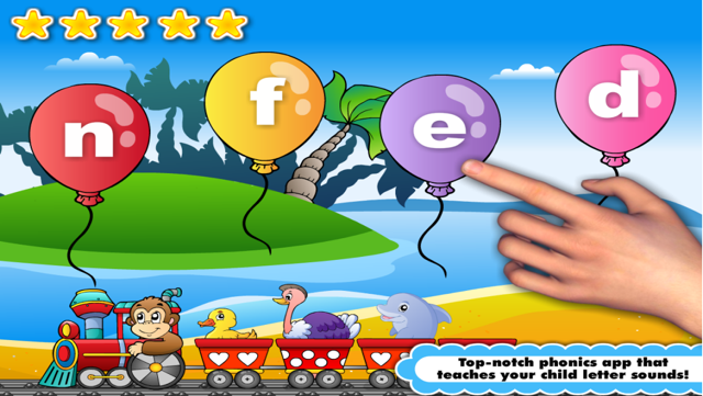 Phonics Island, Letter Sounds games & Alphabet Learning: Preschool Kids Reading Screenshot