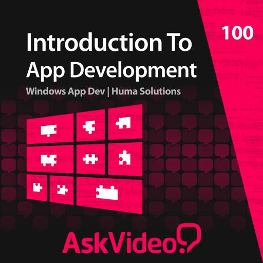 AV for Windows 8 App Dev - Introduction To App Dev