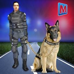 Police Dog Crime Chase