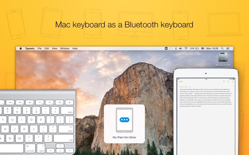 Typeeto: remote full size bluetooth keyboard