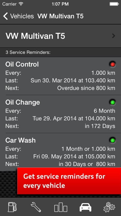Car Log Ultimate Pro - Car Maintenance and Gas Log, Auto Care, Service Reminders