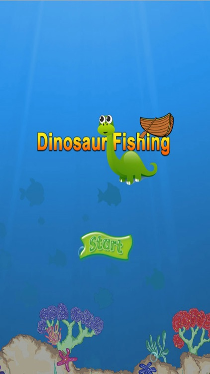 Dinosaur Fishing Free Games - Crazy Catch Big Fish Deep Sea