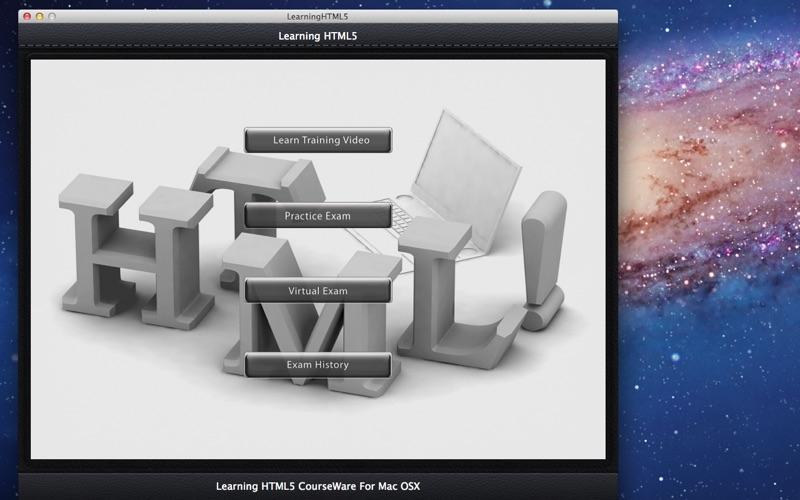 Learning HTML5 screenshot 1