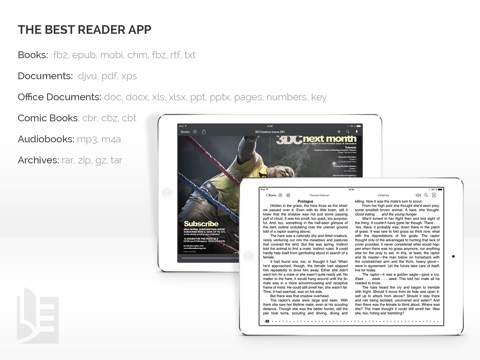 Screenshot #4 pour TotalReader for iPad - The BEST eBook reader for epub, fb2, pdf, djvu, mobi, rtf, txt, chm, cbz, cbr