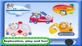 Baby Play Mat Toy · Animated Preschool Adventure: Learning Sound Touch Activity Games - Play and Learn with Funny Farm & Zoo Animals and Vehicles for Preschool and Toddler Kids Explorers by Abby Monkey® (My First Book Edition) screenshot three