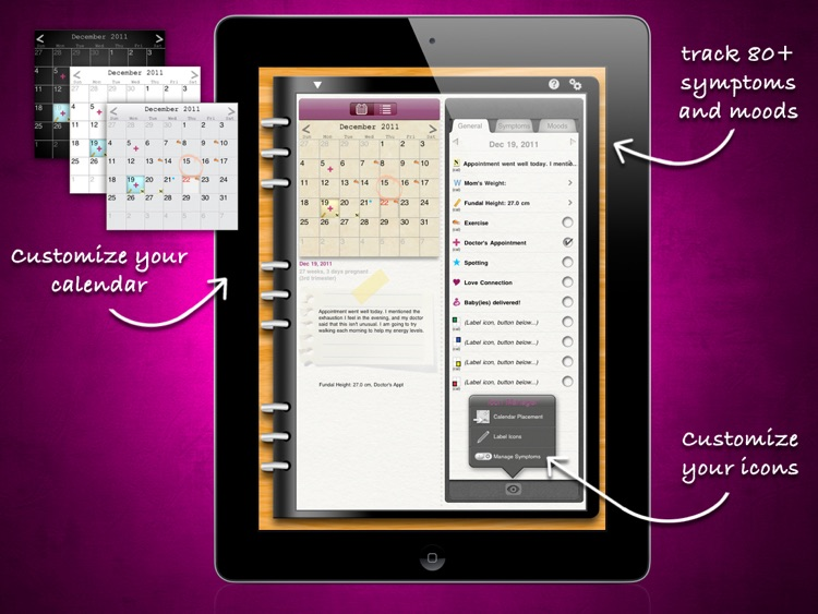 iPregnant Pregnancy Tracker HD (iPeriod's Pregnancy Companion)