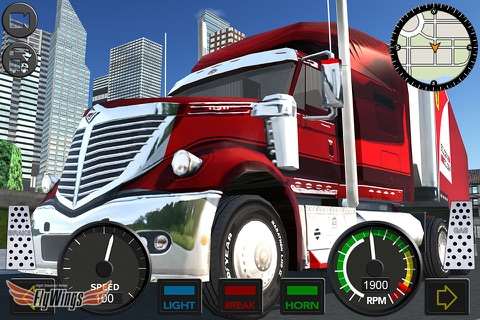 Truck Simulator 2016 Free - North America Cargo Routes screenshot 1