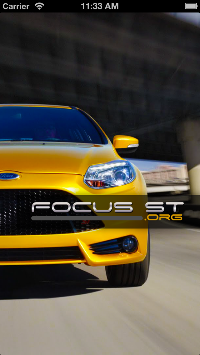 Focus ST.org Forum screenshot one