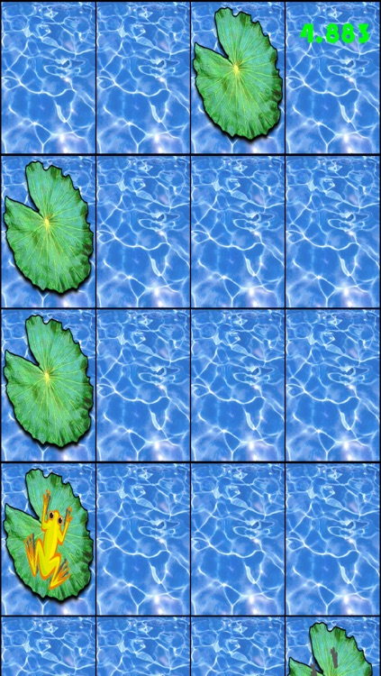 Jumping Frog - Tap Water Lily Pads