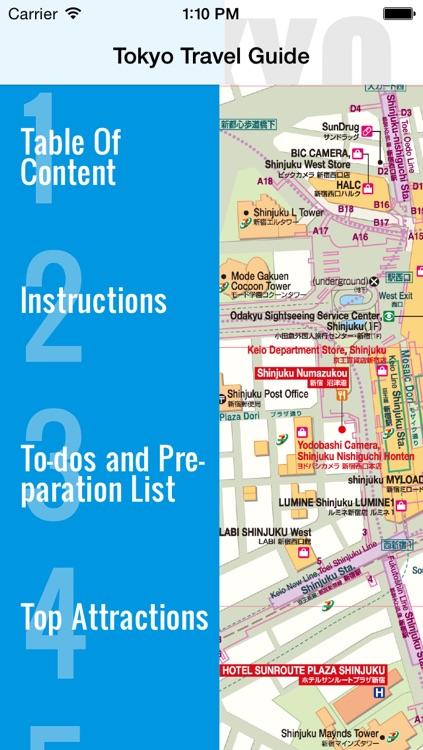 Tokyo travel guide and offline map - Tokyo metro Tokyo subway Narita Haneda Tokyo airport transport, Tokyo city guide, JR Japan Railway traffic maps lonely planet sightseeing trip advisor