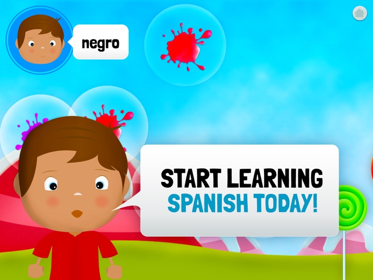 Learn Spanish for Toddlers - Bilingual Child Bubbles Word Game screenshot-3