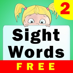 Sight Words With Sentences 2 Free - KIndergarten, First Grade, Second Grade