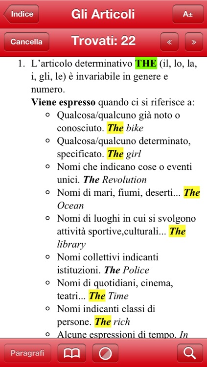 Grammatica Inglese screenshot-4