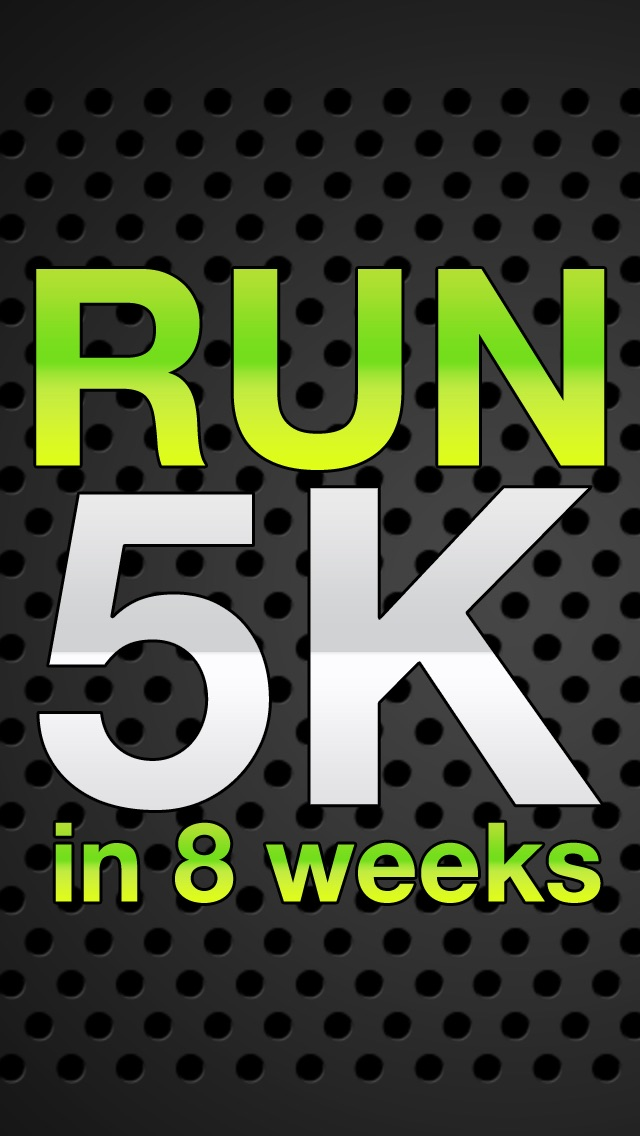 5k - Lose weight, burn calories and get fit & healthy in 8 weeks! Screenshot on iOS