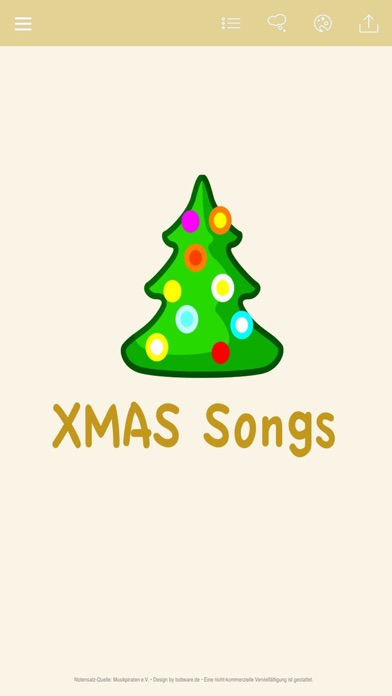 German Christmas Carols - Music, Music Sheet & Coloring Templates for Xmas screenshot one