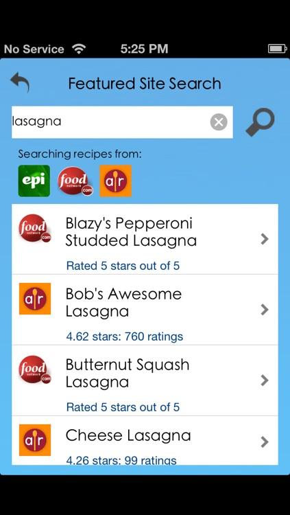 Recipedia - Cookbook and Recipe Finder screenshot-3