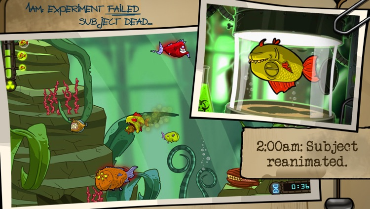 Zombie Fish Tank screenshot-0