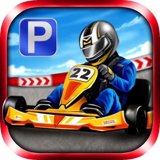 3D Go Kart Parking - eXtreme Go Karting Driving & Racing Games