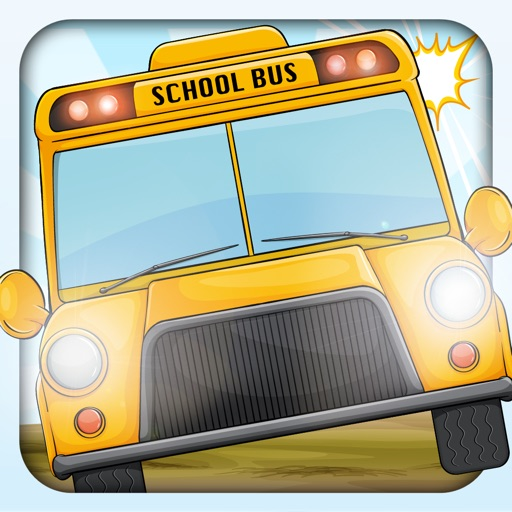 Crazy School Bus Race